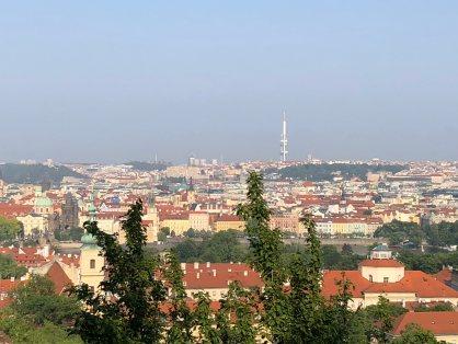 Views from Petrin Park