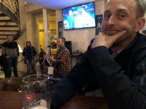 Bryan and band at Prague Beer Museum