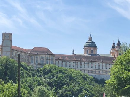 Huge building in Melk