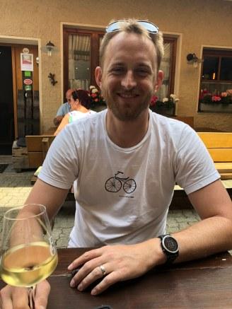 Bryan and wine