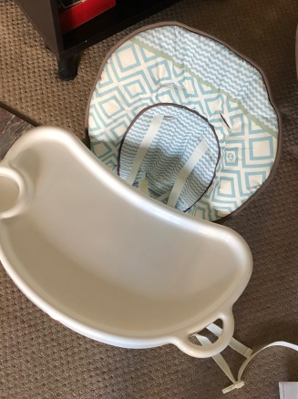 Baby high chair...that won't be needed for months.
