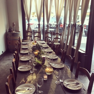 Loved this private dining room at Via Tribunali!