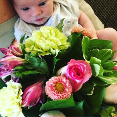 Reese had flowers sent to her